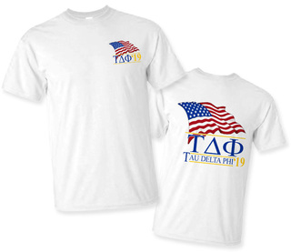 Tau Delta Phi Patriot Limited Edition Tee- $15!
