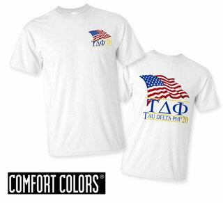 Tau Delta Phi Patriot  Limited Edition Tee - Comfort Colors