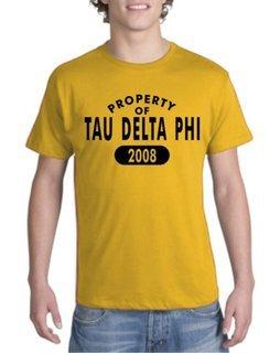 Tau Delta Phi Property of Est. Shirt