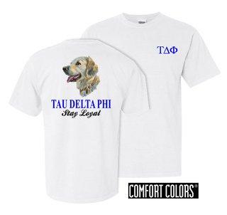 Tau Delta Phi Stay Loyal Comfort Colors T-Shirt