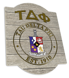 Tau Delta Phi Traditional Sign