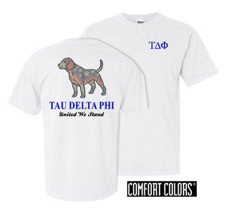 Tau Delta Phi United We Stand Comfort Colors T-Shirt