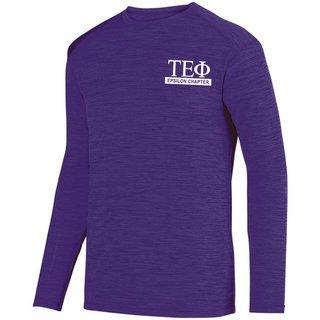 Tau Epsilon Phi- $20 World Famous Dry Fit Tonal Long Sleeve Tee