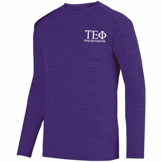 Tau Epsilon Phi- $26.95 World Famous Dry Fit Tonal Long Sleeve Tee