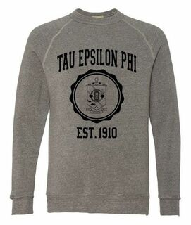 Tau Epsilon Phi Alternative - Eco-Fleece� Champ Crewneck Sweatshirt