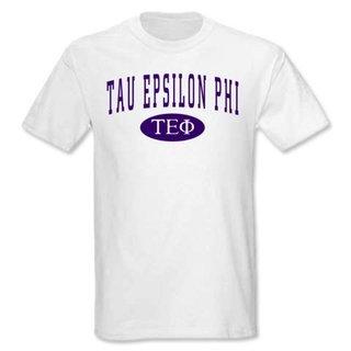 Tau Epsilon Phi arch tee