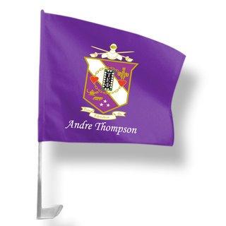 Tau Epsilon Phi Car Flag