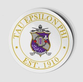 Tau Epsilon Phi Circle Crest - Shield Decal