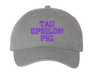 Tau Epsilon Phi Comfort Colors Pigment Dyed Baseball Cap