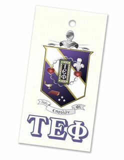 Tau Epsilon Phi Crest - Shield Decal
