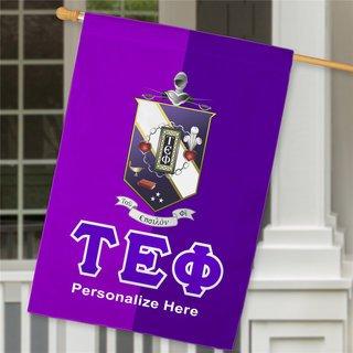 Tau Epsilon Phi Crest House Flag