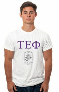 Tau Epsilon Phi Crest - Shield Tee