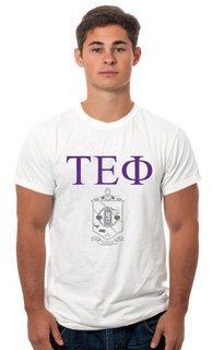 Tau Epsilon Phi Crest - Shield Tee
