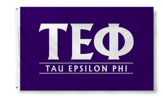 Tau Epsilon Phi Custom Line Flag