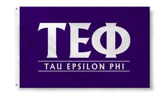 Tau Epsilon Phi Custom Line Flag