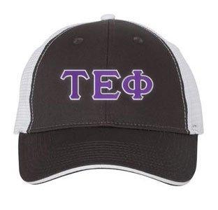 Tau Epsilon Phi Double Greek Trucker Cap