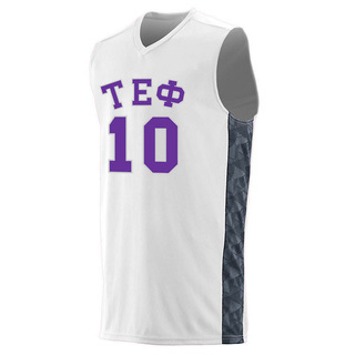 Tau Epsilon Phi Fast Break Game Basketball Jersey