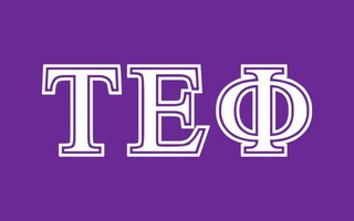 Tau Epsilon Phi Flag Decal Sticker