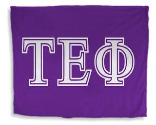 Tau Epsilon Phi Flag Giant Velveteen Blanket
