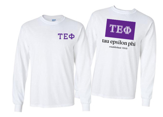 Tau Epsilon Phi Flag Long Sleeve T-shirt