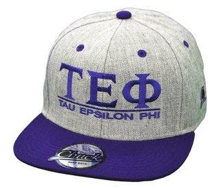 Tau Epsilon Phi Flatbill Snapback Hats Original