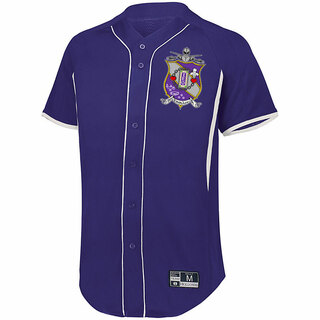 Tau Epsilon Phi Game 7 Full-Button Baseball Jersey
