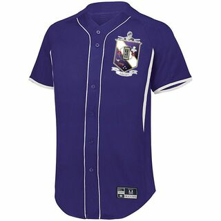 Tau Epsilon Phi Game 7 Full-Button Baseball Jersey