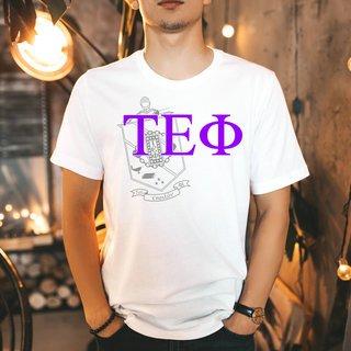 Tau Epsilon Phi Greek Crest - Shield T-Shirt