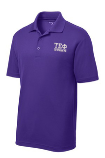 $30 World Famous Tau Epsilon Phi Greek PosiCharge Polo