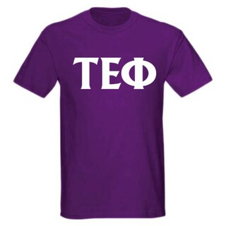 Tau Epsilon Phi letter tee