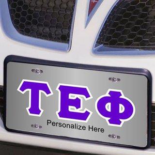 Tau Epsilon Phi Lettered License Cover