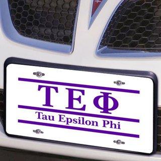 Tau Epsilon Phi Lettered Lines License Cover