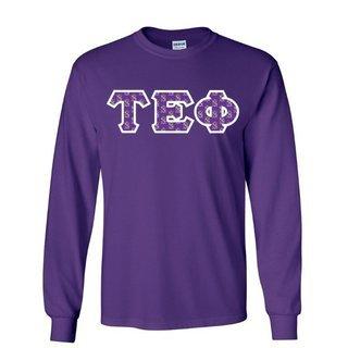 Tau Epsilon Phi Lettered Long Sleeve Shirt