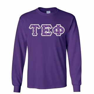 Tau Epsilon Phi Lettered Long Sleeve Shirt