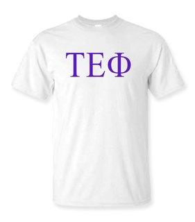 Tau Epsilon Phi Lettered Tee - $9.95!