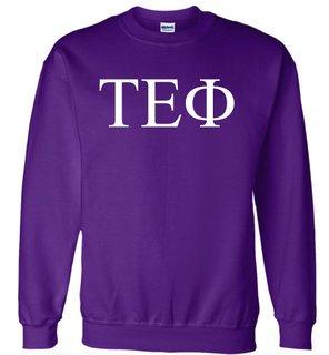 Tau Epsilon Phi Lettered World Famous $19.95 Greek Crewneck