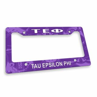 Tau Epsilon Phi Custom License Plate Frame