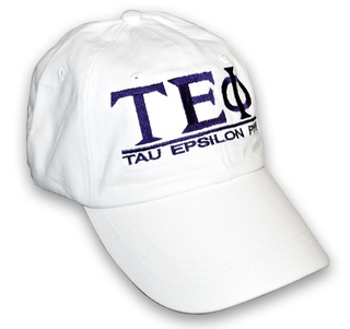 Tau Epsilon Phi World Famous Line Hat