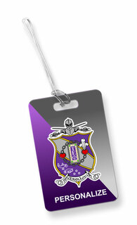 Tau Epsilon Phi Luggage Tag