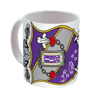 Tau Epsilon Phi Mega Crest - Shield Coffee Mug
