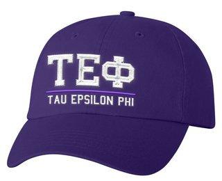 Tau Epsilon Phi Old School Greek Letter Hat