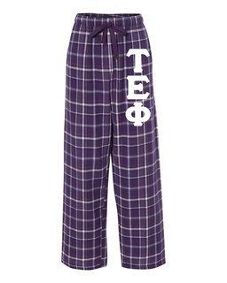 Tau Epsilon Phi Pajamas Flannel Pant
