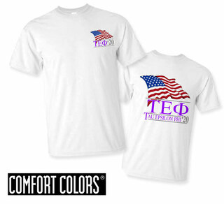 Tau Epsilon Phi Patriot  Limited Edition Tee - Comfort Colors