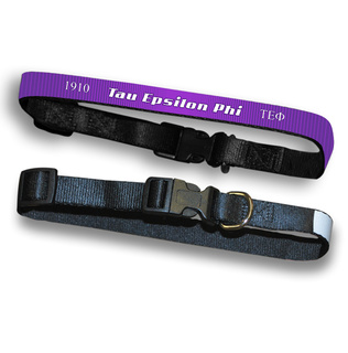Tau Epsilon Phi Pet Collar