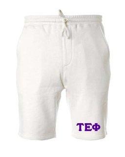 Tau Epsilon Phi Pigment-Dyed Fleece Shorts