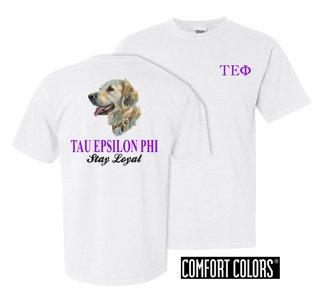 Tau Epsilon Phi Stay Loyal Comfort Colors T-Shirt