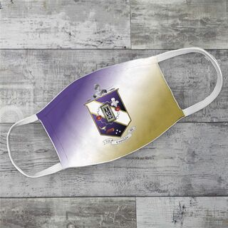 Tau Epsilon Phi Super Crest Face Masks