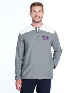 Tau Epsilon Phi Under Armour�  Men's Triumph Cage Quarter-Zip Pullover
