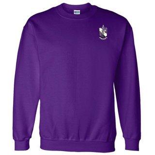DISCOUNT-Tau Epsilon Phi World Famous Crest - Shield Crewneck Sweatshirt