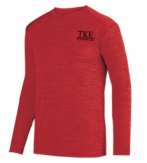 Tau Kappa Epsilon- $20 World Famous Dry Fit Tonal Long Sleeve Tee